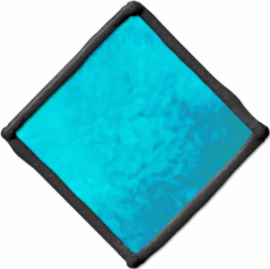 Gallery Glass ® Window Color™ - Aqua, 2 oz. - 17049