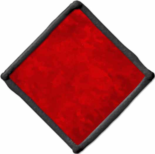Gallery Glass ® Window Color™ - Real Red, 2 oz. - 17347