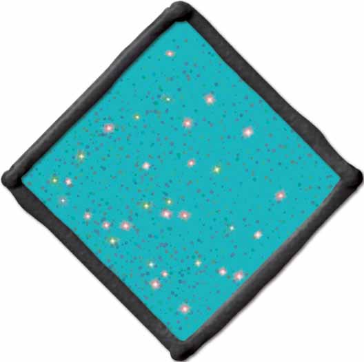 Gallery Glass ® Window Color™ - Aqua Shimmer, 2 oz. - 17493