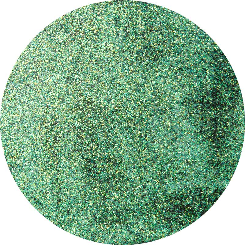 PlaidFX Hi-Voltage Glitter Flexible Acrylic Paint - Green Shift, 3 oz. - 36903
