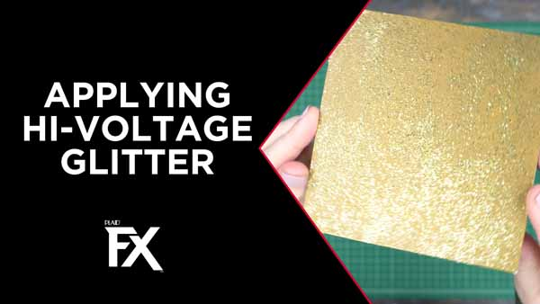 Applying Hi-Voltage Glitter