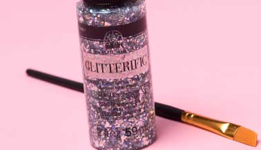 How to Use FolkArt Glitterific
