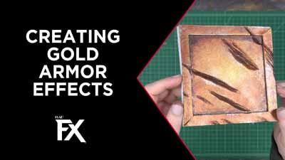Creating Gold Armor Effects