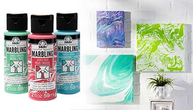 Learn about FolkArt Marbling Paint