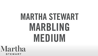 Learn about Martha Stewart Marbling Medium
