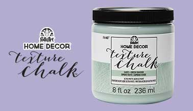 Learn about FolkArt Home Decor Texture Chalk