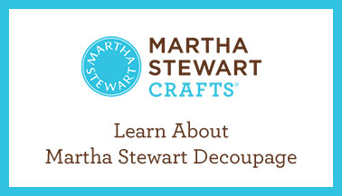 Learn About Martha Stewart Decoupage