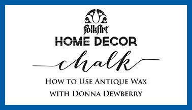 How To Use Antique Wax