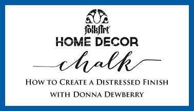 How To Create a Distressed Finish