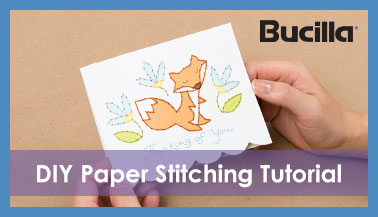 Learn How to Use Bucilla Paper Stitchery Kits