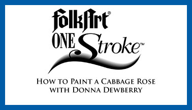 How to Paint a Rose with Donna Dewberry
