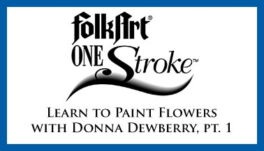 Learn to Paint Flowers with Donna Dewberry, Pt. 1