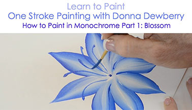 How to Paint in Monochrome, Pt. 1: Blossom