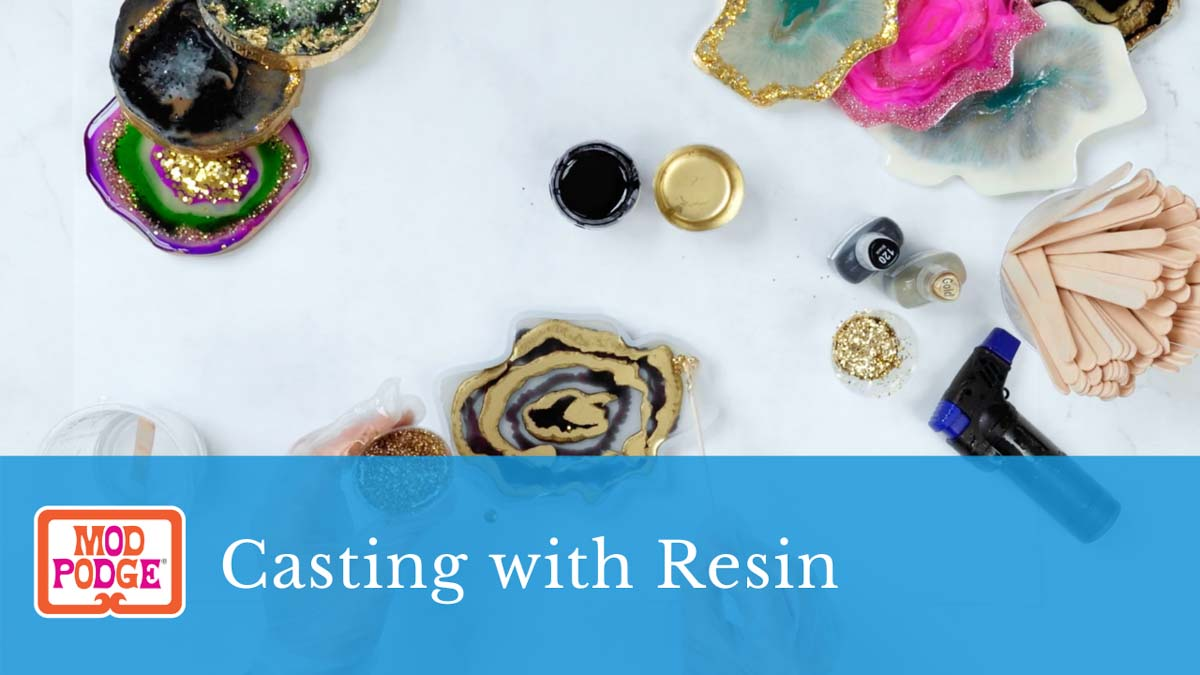 Casting with Resin