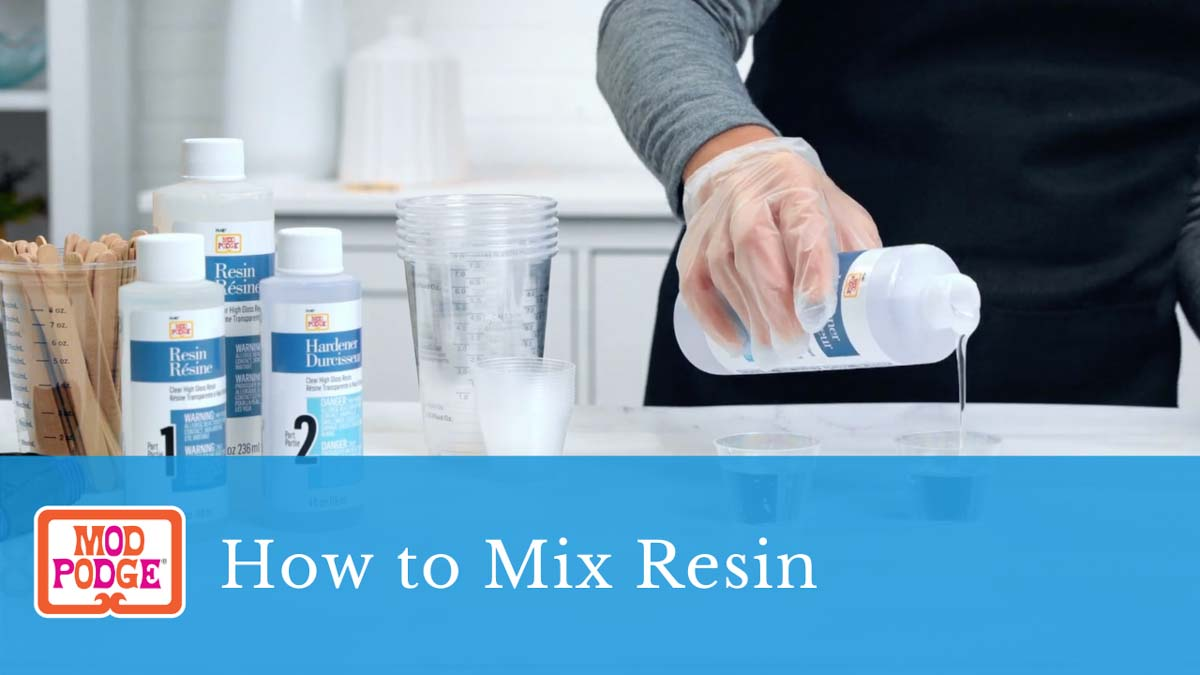 How to Mix Resin
