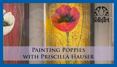 How to Paint a Poppy with Priscilla Hauser