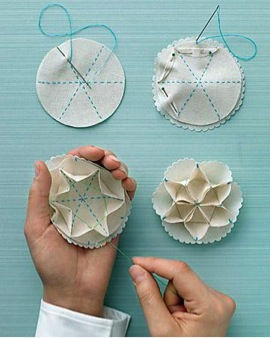diy three dimensional doily ornaments printable template and tutorial via martha stewart