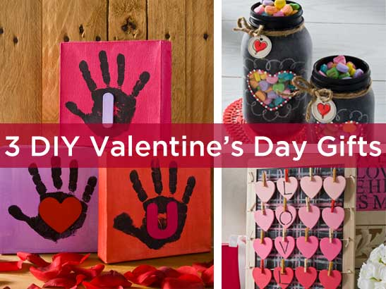 3 DIY Valentine Gift Ideas for the Family