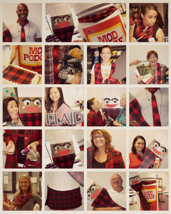 Rock the Plaid: Plaidurday!