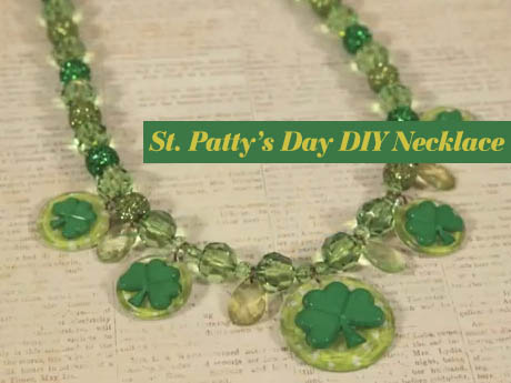Easy St. Patty's Day Party Necklace