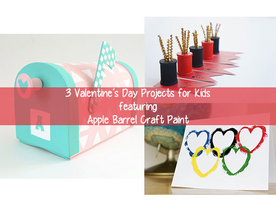 3 Kids Valentine Craft Projects