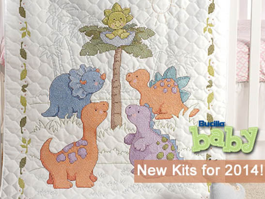Introducing New Bucilla Baby Needlework Designs