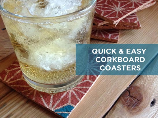 Create These Quick & Easy DIY Coasters