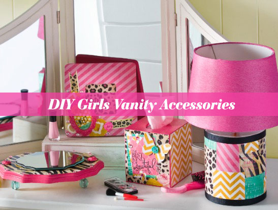 Girls Vanity Accessories with Cathie & Steve