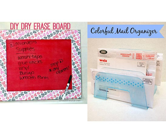 More Organizational Project Ideas Featuring Mod Podge Sheer Colors