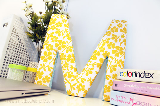 Ultimate Guide to DIY Decorative Letters | Plaid Online