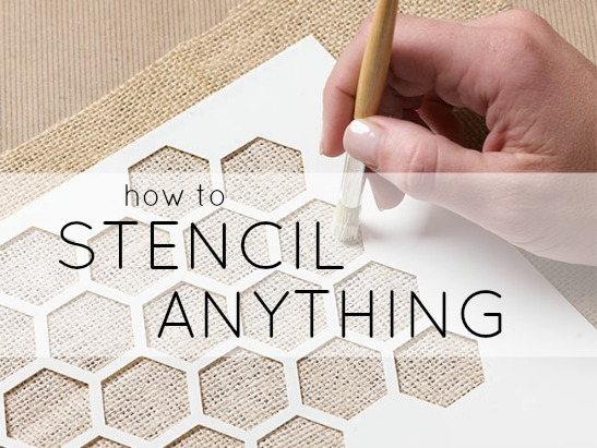 learn how to stencil and stenciling tips. Black Bedroom Furniture Sets. Home Design Ideas