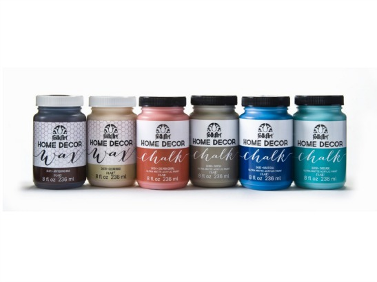 Weu0027re So Excited To Announce The Launch Of Our New Paint Line, FolkArt® Home  Decor™ Chalk, A No Prep Acrylic Paint And Wax Thatu0027s Perfect To Refresh ...