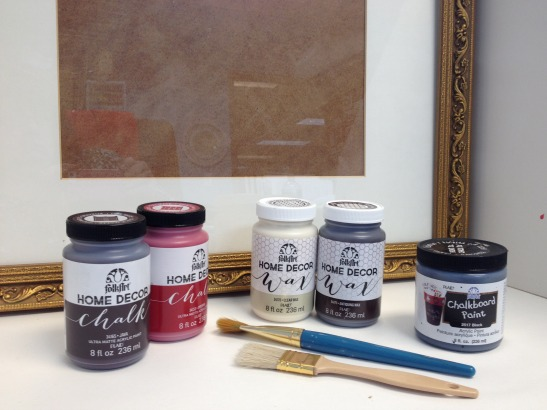 How To Paint and Distress Almost Anything Using FolkArt Home Decor Chalk