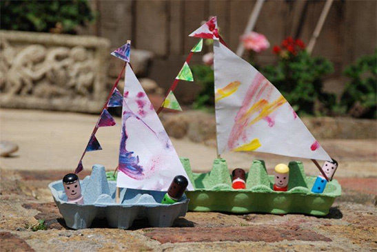 4 Easy Recycled Paper Crafts for Kids