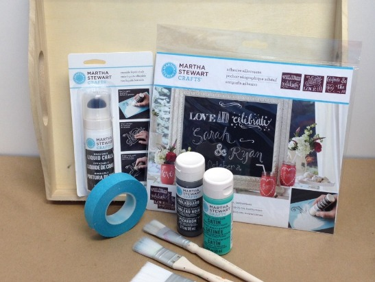 How to Use Martha Stewart Crafts Erasable Liquid Chalk