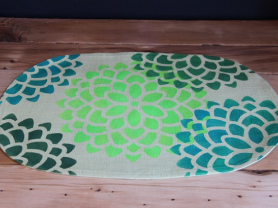 Easy DIY Summer Placemat