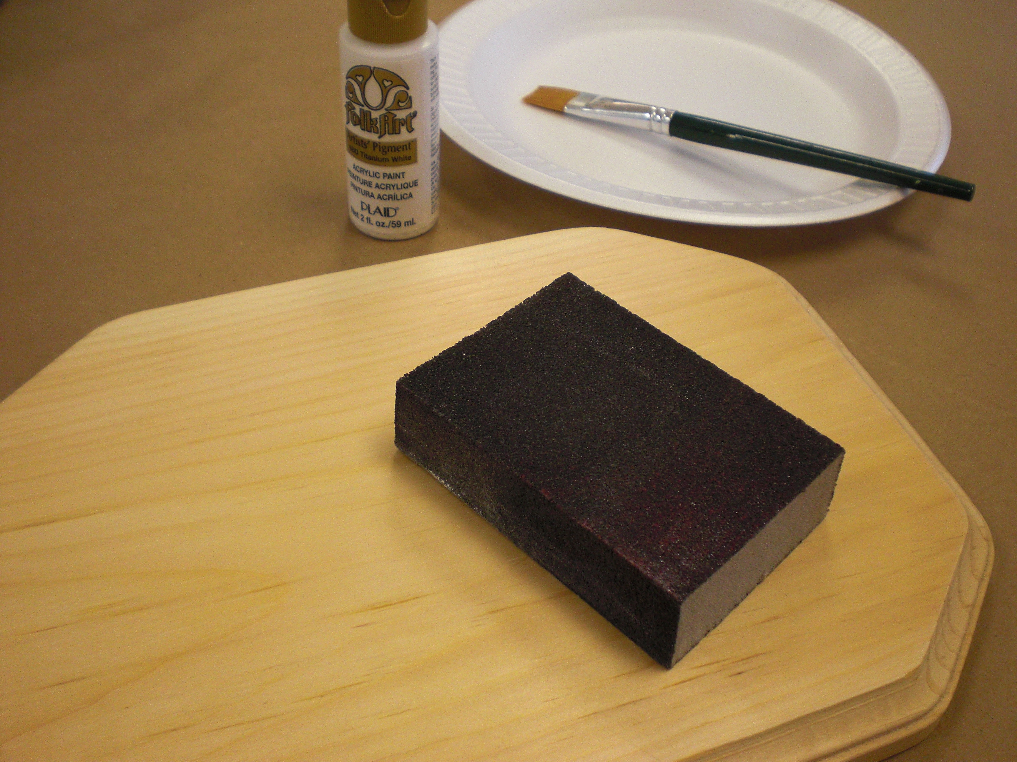 Wood Looking Paint How To Prepare Wood Surfaces With Acrylic Basecoats Plaid Online