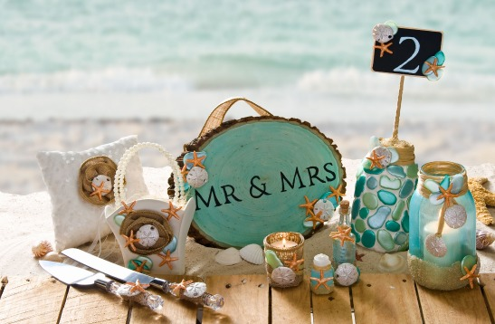 10 DIY Beach Wedding Projects