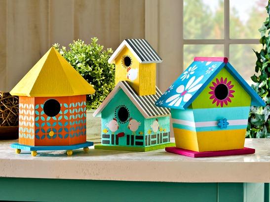 The plaid palette blog diy crafts plaid online - Bird house painting ideas ...