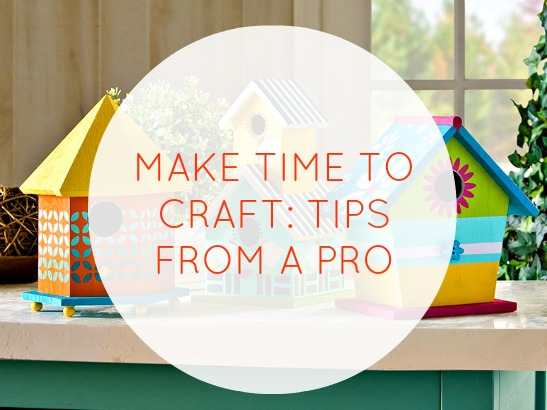 How to Successfully Plan a Crafting Session for Busy Folks