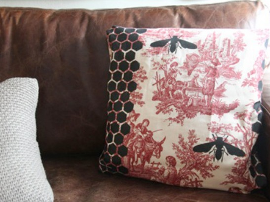 Stenciled Pillow DIY with Ed Roth