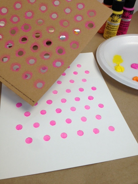 Pro Tips: How to Paint Polka Dots | Plaid Online