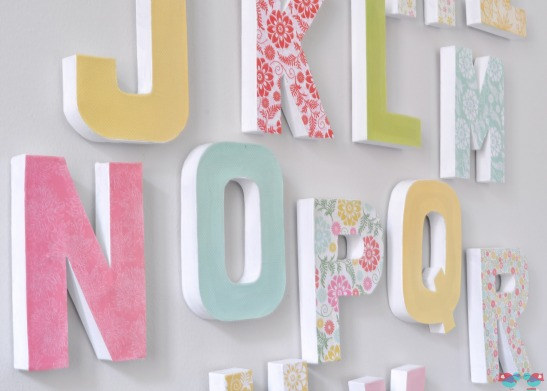 Five Nursery DIY Projects Using Mod Podge
