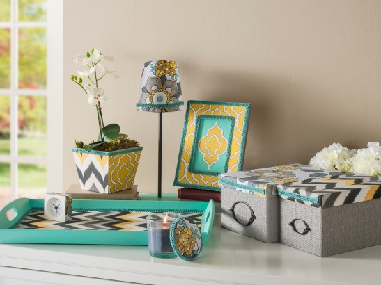 Refresh and Reenergize Your Decor with Fabric Mod Podge