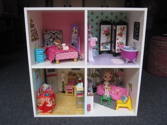 DIY Modern Dollhouse with Cathie & Steve