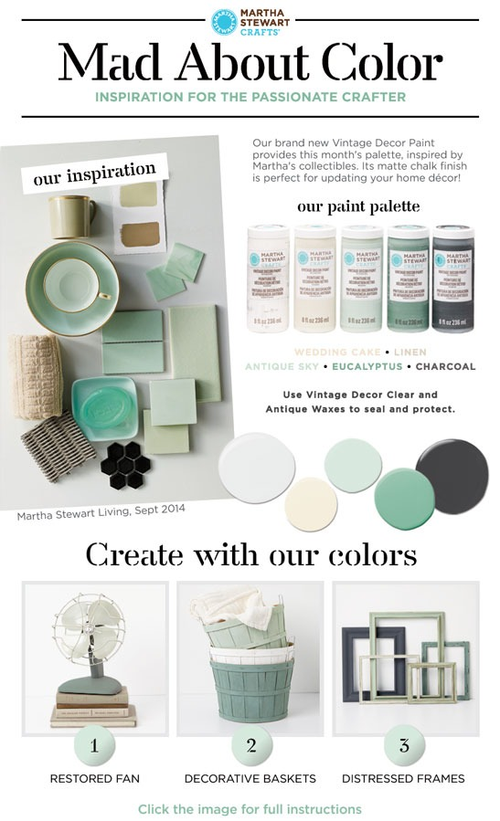 Purchase The Exclusive Paint Kit To Recreate These Three Projects And More.  The Kit Includes Full Color Project Inspiration And The Following Colors  And ...