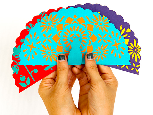 Peacock Fiesta Cards from Handmade Charlotte