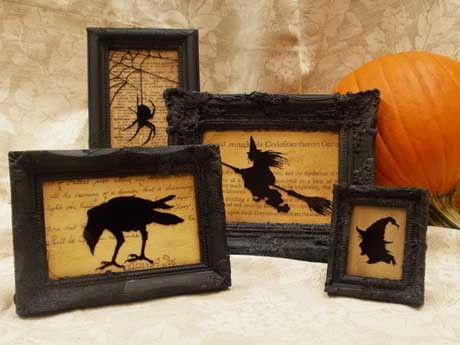 How to Create Spooky Silhouettes Just in Time for Halloween!