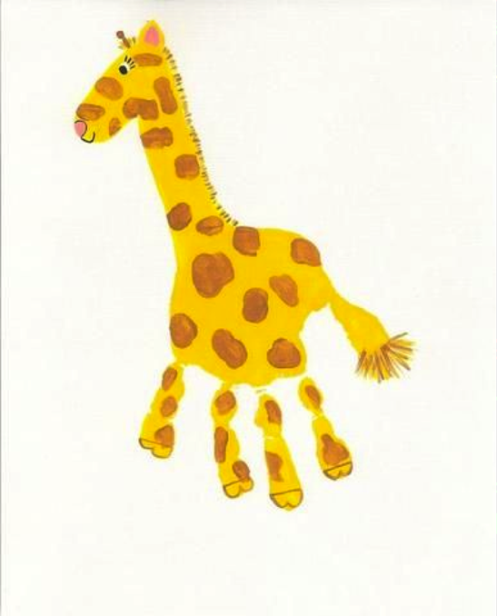 Fun Giraffe Craft