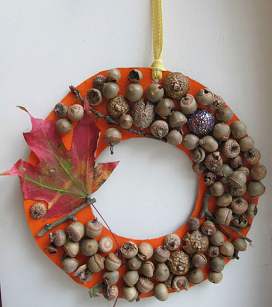 Adorn with acorns this season plaid online for How to preserve acorns for crafts